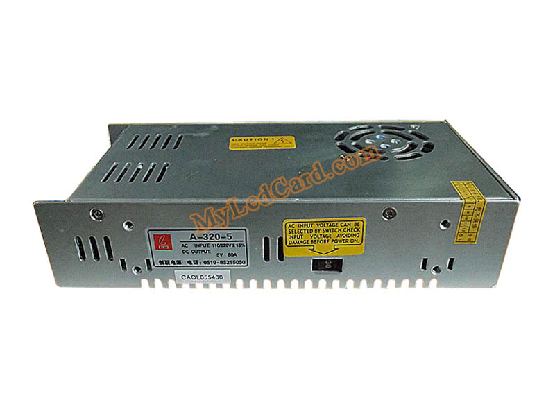 CZCL A-320-5 300W 5V 60A Switching Power Supply