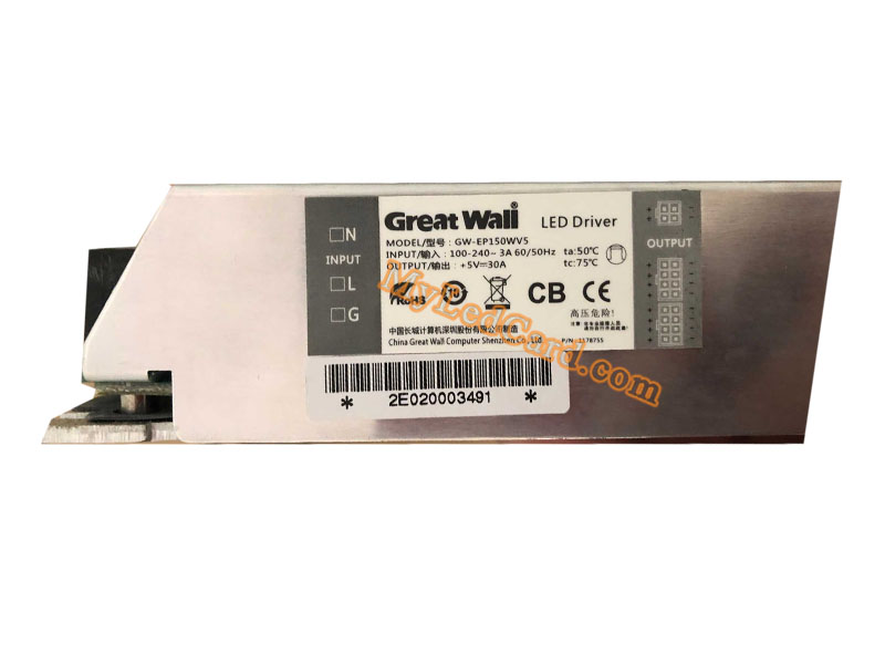 Great Wall GW-EP150WV5 5V 30A LED Driver