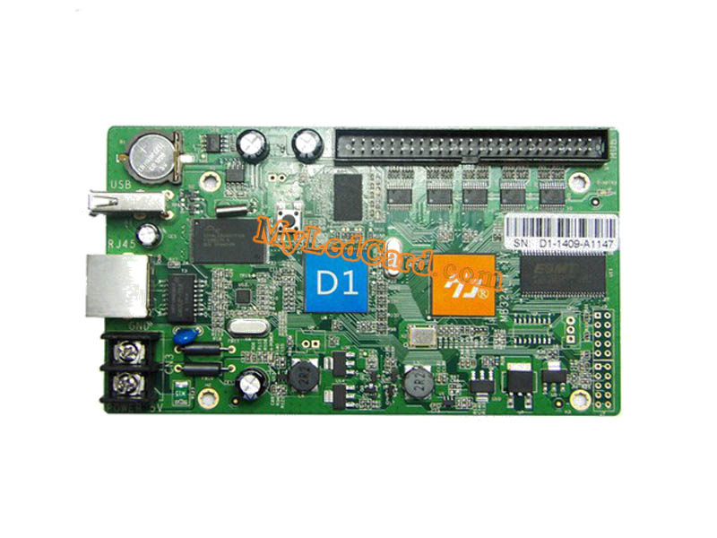 HD-D1 Full Color LED Sign Controller Card
