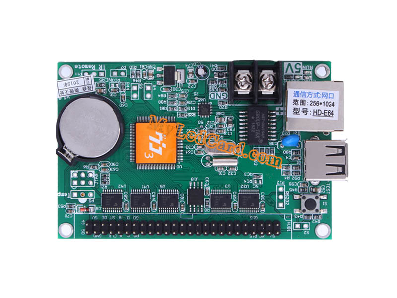 HD-E64 Ethernet LED Display Board Controller Card