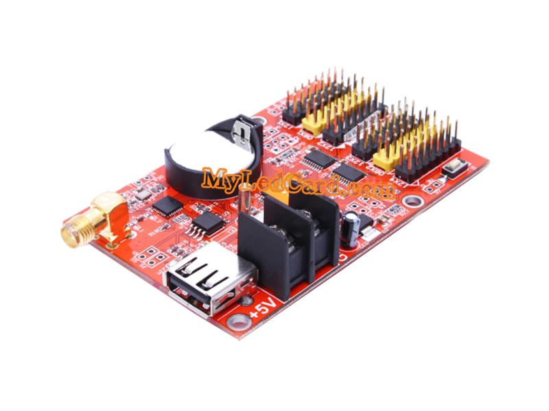 HD-S63 LED Sign Controller Card with USB and Serial Ports