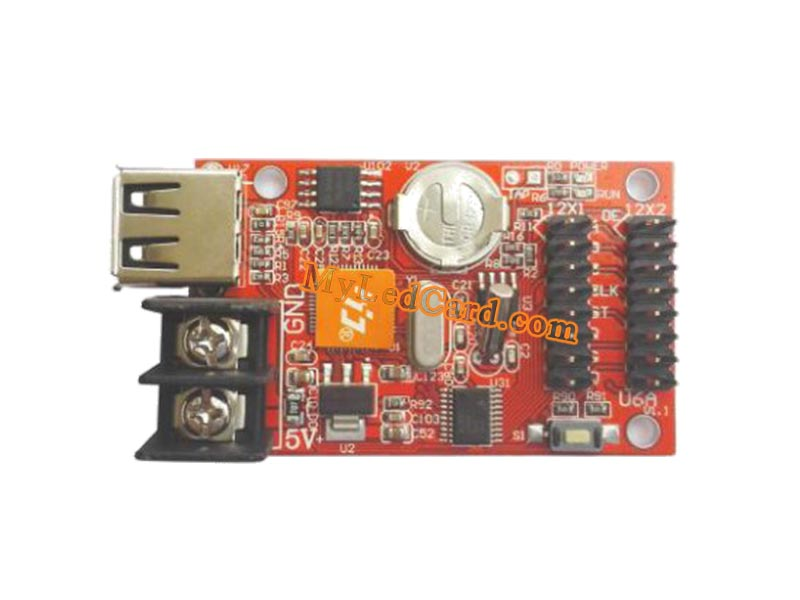 HD-U6A LED Scrolling Board U-disk Controller Card (5PCS)