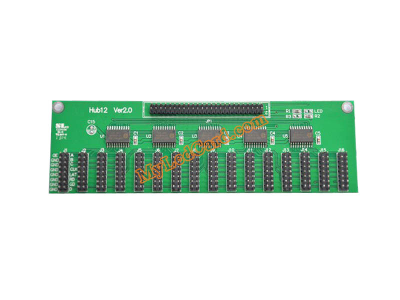HUB12 LED Display Module Adapter Card