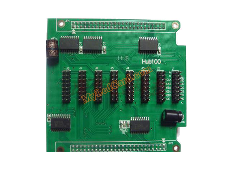 Hub100 Full Color LED Hub Card