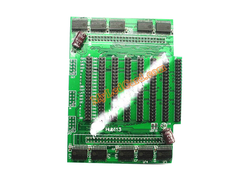 Hub113 LED Display Hub Card