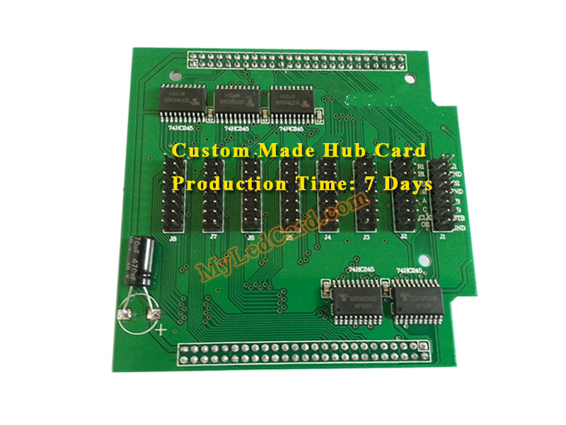 Hub131 LED Screen Hub Card