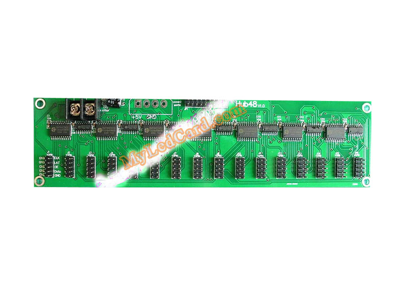 Hub48 LED Curtain Hub Card