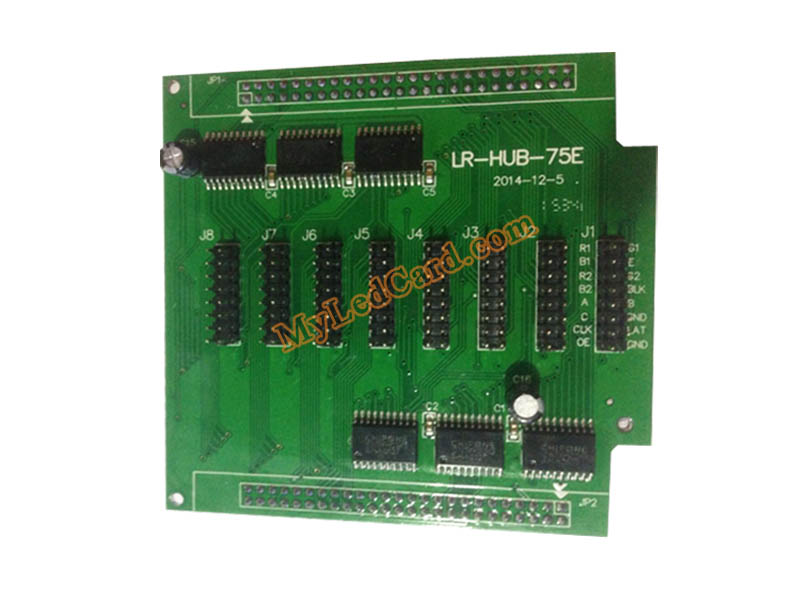 Hub75E LED Display Adapter Board