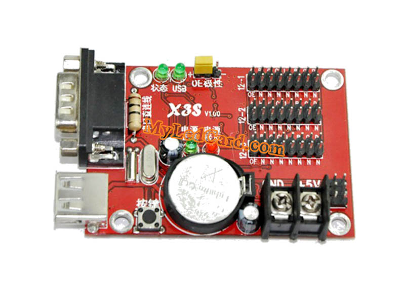 Kaler X3S LED Controller with USB+Serial Ports