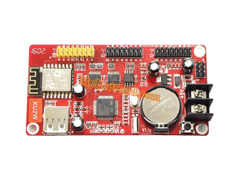 Kaler XU2W LED WiFi Controller Card with USB Port