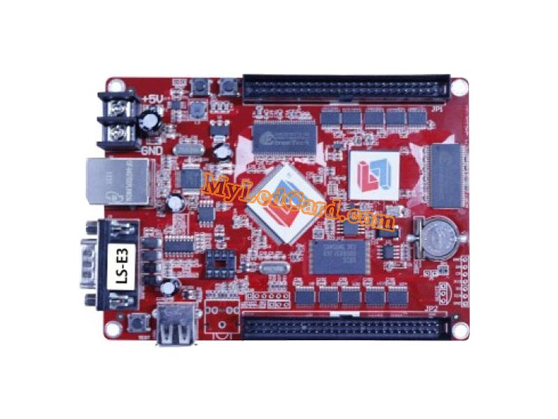 LiSten LS-E3 LED Control Card with LAN+USB+Serial Ports
