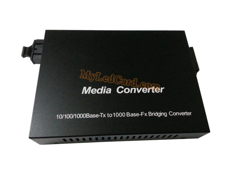 Linsn SC801 Single Mode Optical Fiber Converter