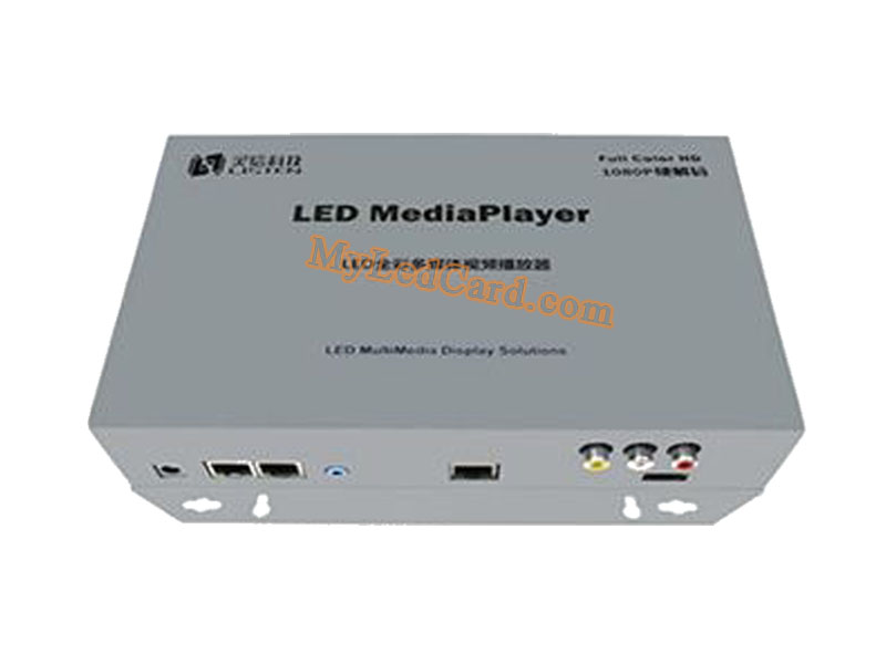 Listen RGB LED Sign Board Controller LS-Q3-AV LED Media Player