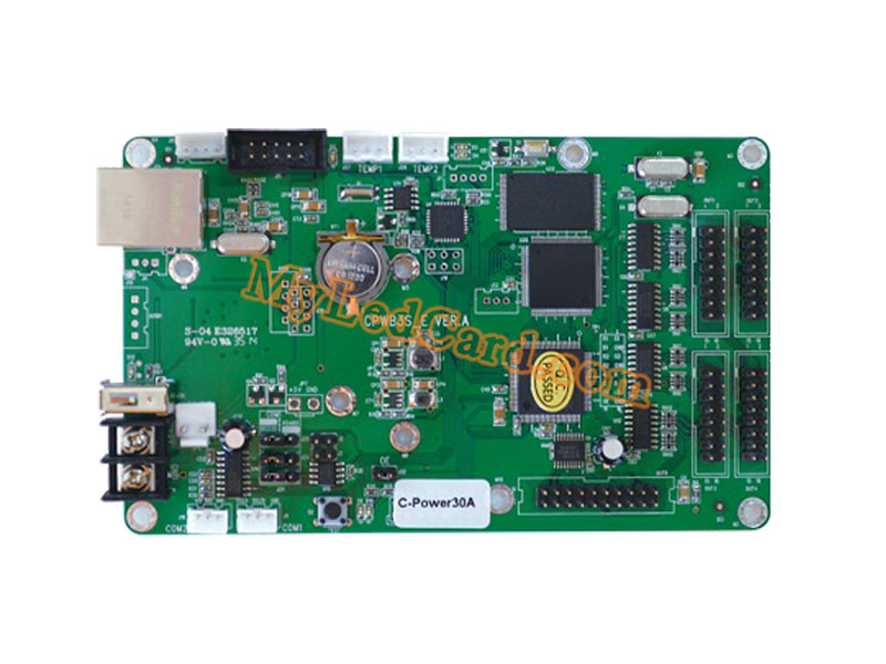 Lumen C-Power30A LED Controller USB Ethernet Serial Ports