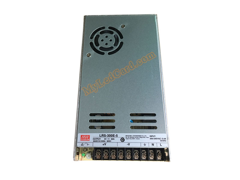 MeanWell LRS-300E-5 LED Panel Power Supply
