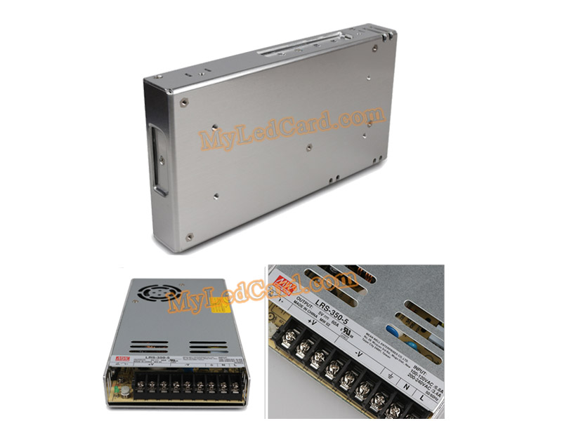MeanWell LRS-350-5 LED Display Slim Power Supply Unit