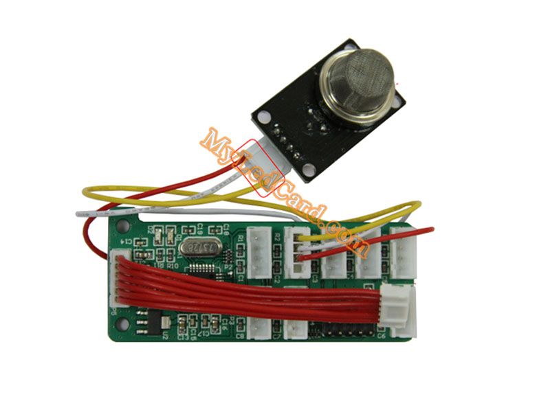 MoonCell MQ-2 LED Smoke Control Card