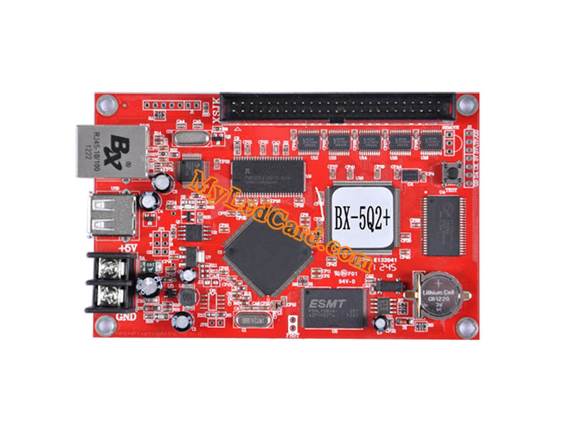 ONBON BX-5Q2+(U75) Multi-area Asynchronous USB RGB LED Control Card