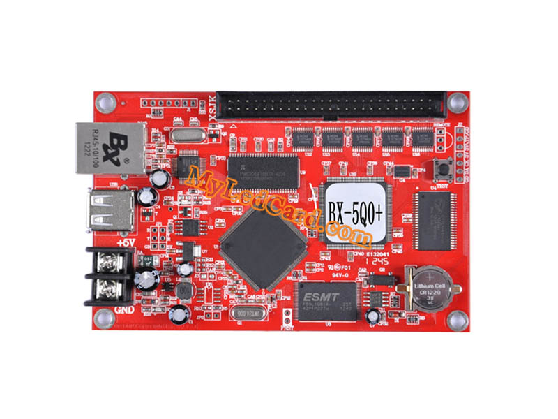 OnBon BX-5Q0+ Asynchronous Multi Color LED Control Card (Ethernet+USB)