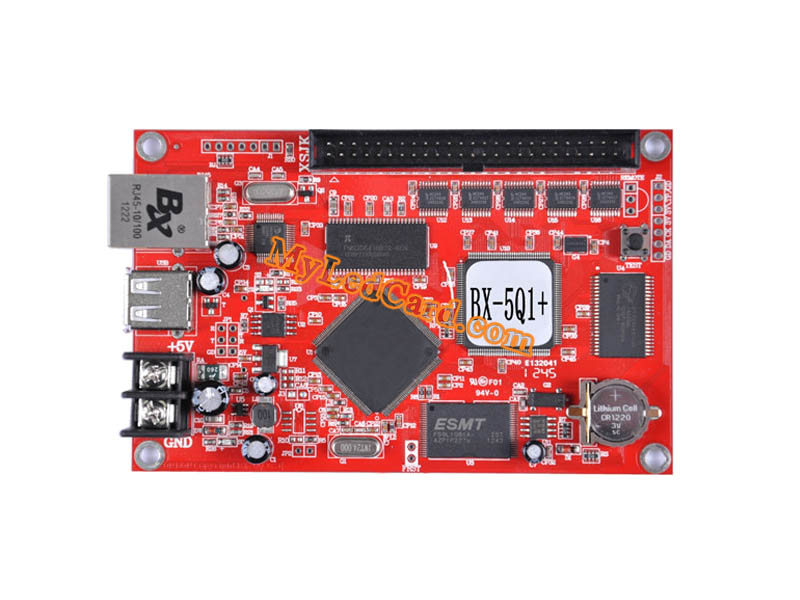 OnBon BX-5Q1+ Asynchronous Full Color LED Control Card (Ethernet+USB)