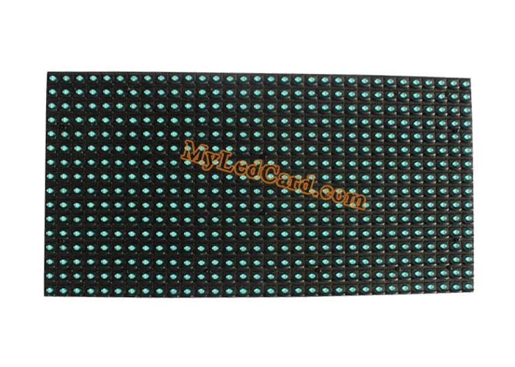 P10 Semi Outdoor Blue Color LED Display Sign Module 320*160mm