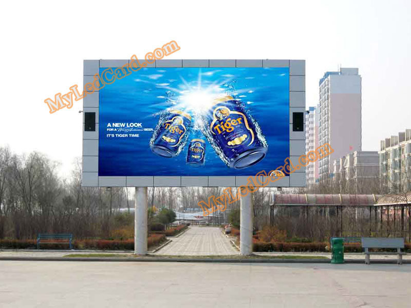 P10 Outdoor DIP Full Color LED Display Screen
