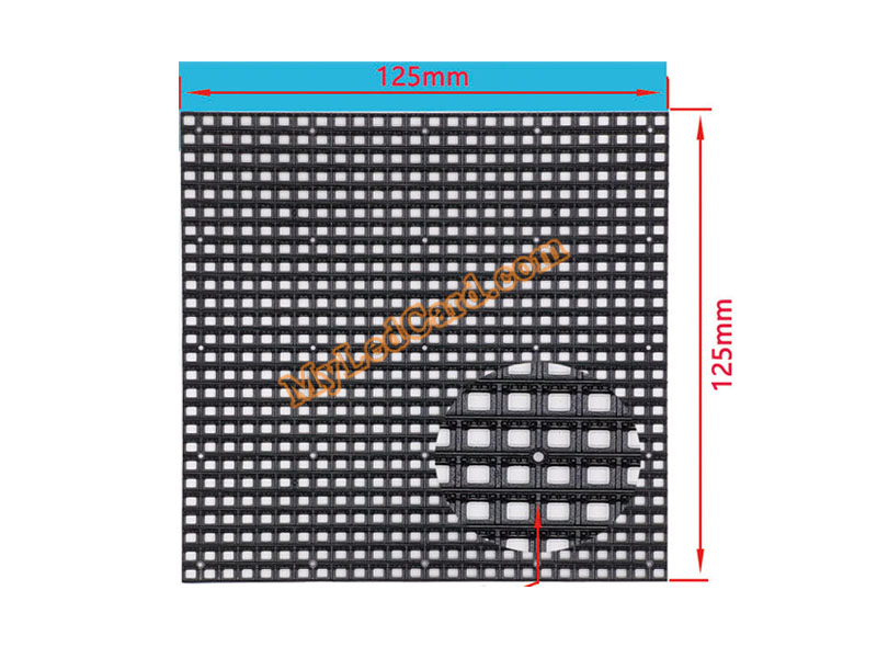 P4.81 Outdoor SMD LED Screen Module Face Mask