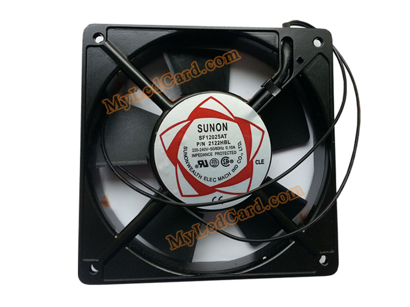 Sunon 220V LED Screen Cabinet Cooling Fan SF 12025AT