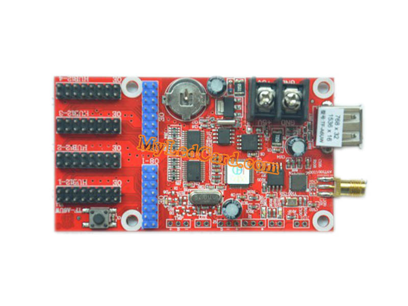 TF-A6UW USB and WIFI Port LED Sign Control Card