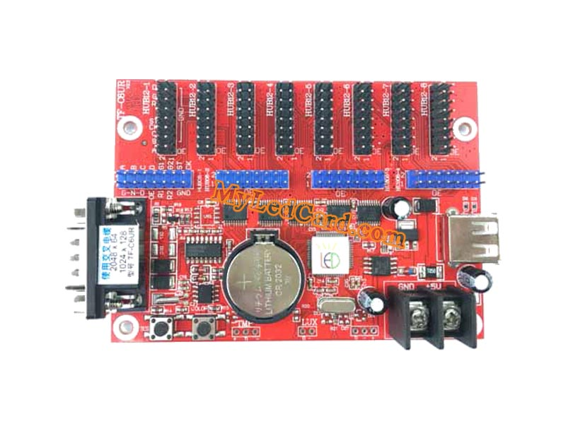 TF-C6UR TF-C3U LED Sign Cabinet Control Card