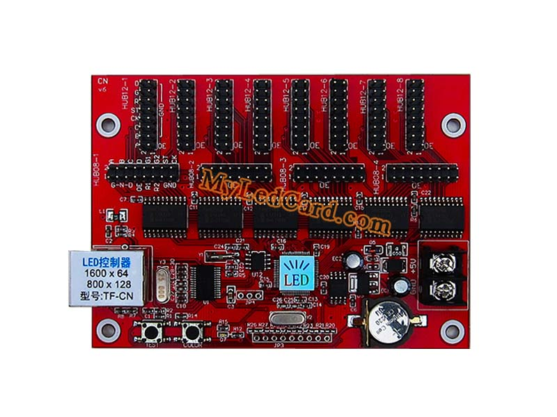 TF-CN LED Display Board Control Card with Network Port