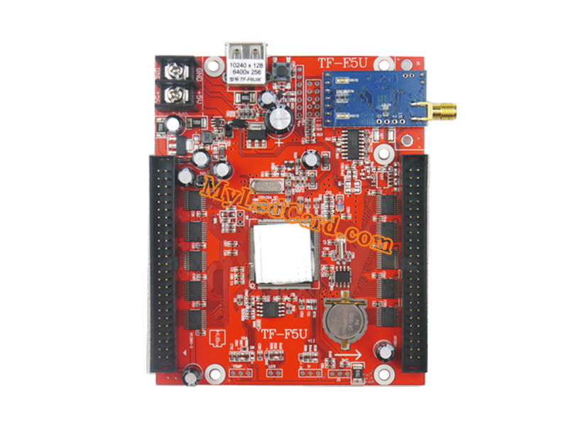TF-F6UW LED Sign Controller Card with TF WIFI USB Port