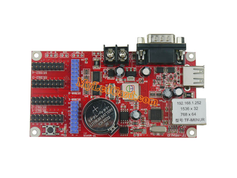 TF-M6NUR TF-M5NUR LED Display Controller COM/USB/Serial