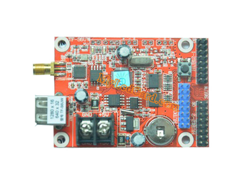 TF-S6UW TF-S5UW LED Display Control Card with WIFI and USB Port