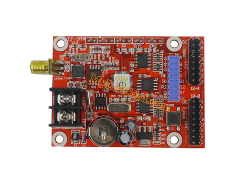TF-S6W WIFI LED display Controller Card Wireless LED Card