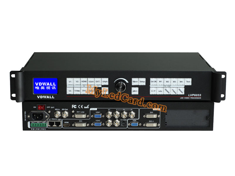 VDWALL LVP605S SDI/HD-SDI LED Video Processor Price