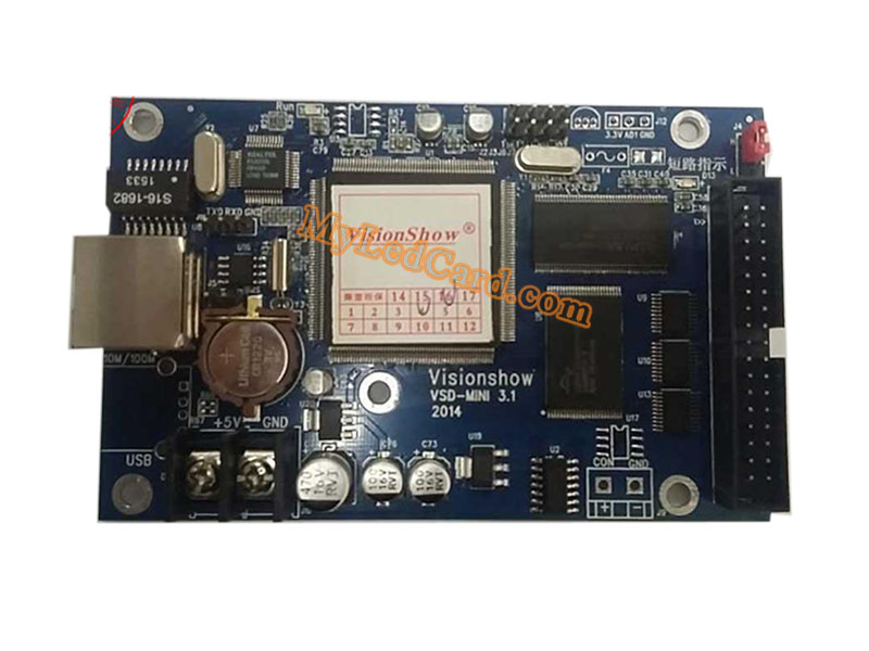 Visionshow VSD-MINI 3.1 LED Async Controller Ethernet Port