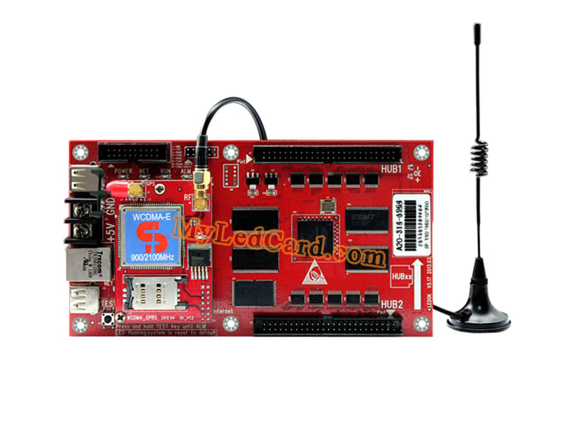 XiXun A20 GPRS Full Color LED WiFi Controller Board