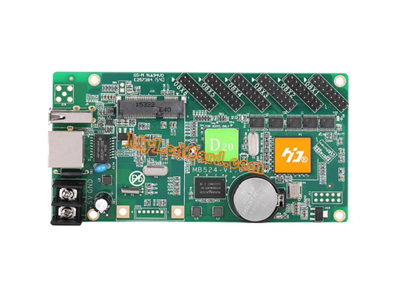 HD-D20 Asynchronous Full-color LED Display Controller Card
